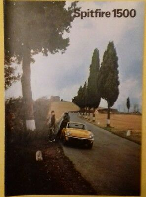 Catalogue TRIUMPH SPITFIRE 1500