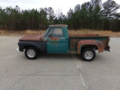 1966 Ford F-100  1966 Ford F-100 Stepside Truck 302 V8 3 Speed Manual Very Solid Truck!!