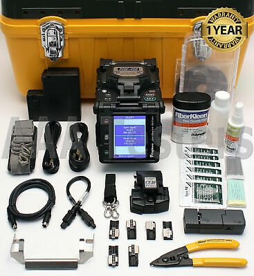 Fujikura FSM-60R12 SM MM Single & Ribbon Fiber Fusion Splicer w/ Cleaver FSM-60R
