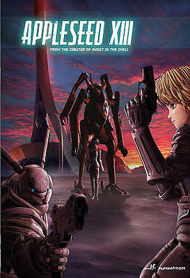 Appleseed XIII: The Complete Series (Blu-ray/DVD, 2013, 4-Disc Set) New