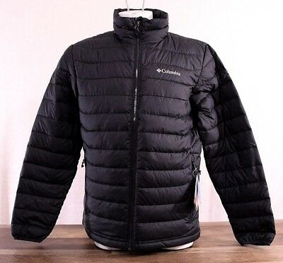 Columbia Oyanta Trail Thermal Coil Insulated Jacket Men's Size XL Black Coat NWT