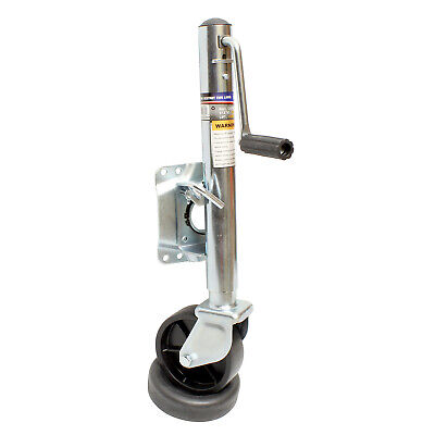 ABN® Trailer Jack with Wheel – 1000 lbs Boat Trailer Jack & Trailer Tongue Wheel