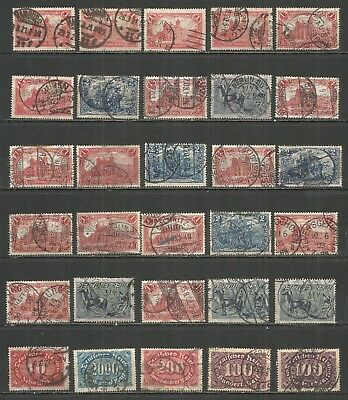 Germany Reich Nazi ,  nice Collections 30 used stamps