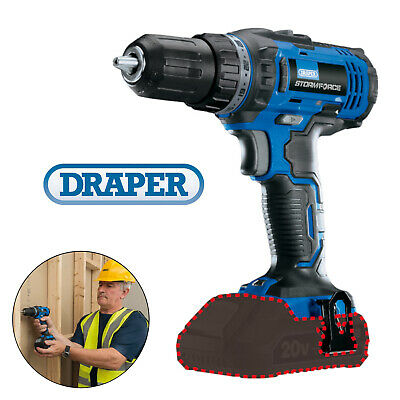 Draper 89524 Storm Force 20V 2 Speed Cordless Rotary 2 Function Drill Screwdrive