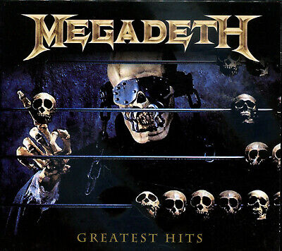 1 CENT 2CD Greatest Hits - Megadeth UNOFFICIAL/THRASH METAL