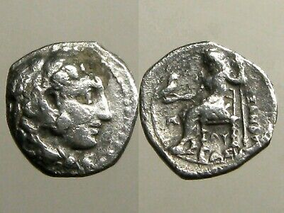 ALEXANDER III THE GREAT OF MACEDONIA______SILVER OBOL_____Undefeated in Battle