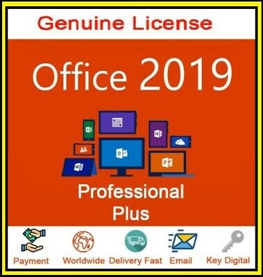 Office 2019 Pro Plus 🔐Lifetime License🔐 Instant Delivery (less than 6 h)✔