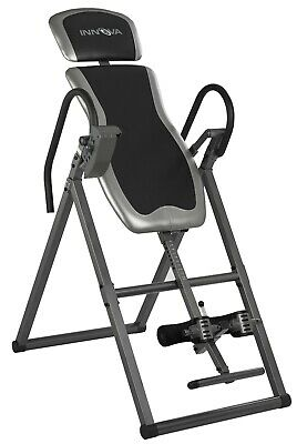 Innova Fitness Itx9600 Heavy-Duty Deluxe Inversion Therapy Table Adj Headrest
