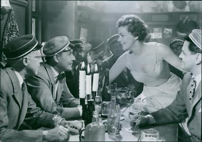 """A scene from the film """"Sjunde himlen""""  Seventh Heaven , with Hasse Ekman as Will"""