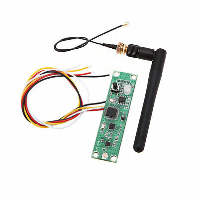 New Wireless DMX512 2.4G Led Stage Light PCB Modules Board with Antenna G@