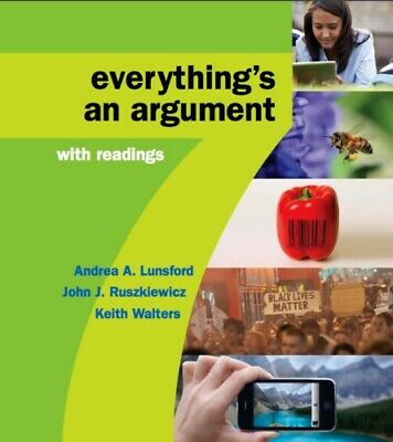 Everything's an Argument with Readings 7th Edition {PDF} **SAME DAY DELIVERY**