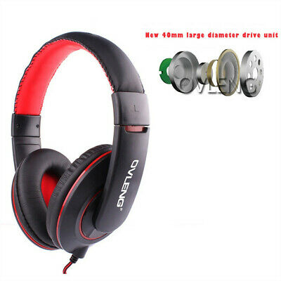 Surround Stereo Gaming Headset Earphone 3.5mm Wired With Mic For PS4 Laptop Xbo