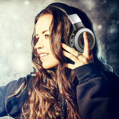 Stereo Headphone Wireless Bluetooth Hearphone with Noise Cancelling Over-Ear