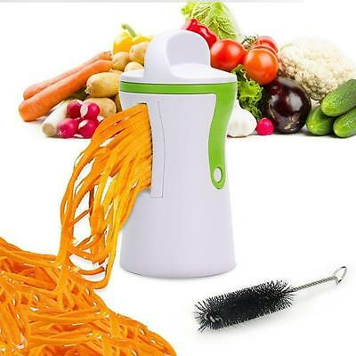 Spiral Vegetable Slicer Spiralizer Fruit Veggie Cutter Twister Peeler Shred Tool