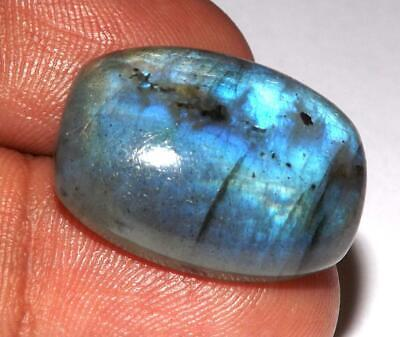 26.95 ct Fire Labradorite Cabochon 24 x 17 mm Natural Earth Mined Gem #zlb80