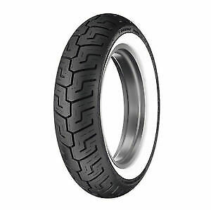Dunlop D401 Wide White Wall (150/80 B16) (71H) TL Rear Motorcycle Tyre