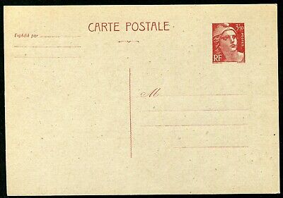 France 1947 3f50 postal stationery card Michel P.107b unused (cat. €45)