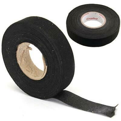 Hot 1roll Automotive Wire Loom Adhesive Cloth Fabric Tape