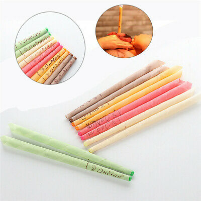 10Pcs Ear Cleaner Wax Removal Candles Ear Care Healthy Hollow Candles Sets New