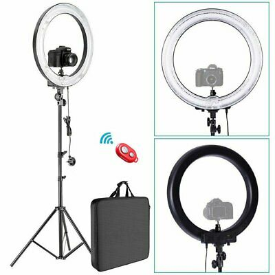"""Neewer 12""""  35W Ring Fluorescent Flash Light with Light Stand Kit"""