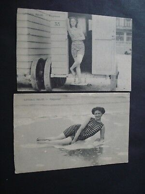 Lot 5 Cp Baigneuses Bathers