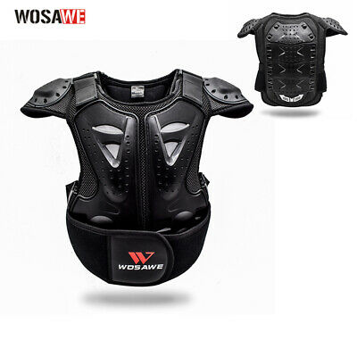 Kids Body Chest Spine Protector Dirt Bike Child Motorcycle Protective Guard Vest
