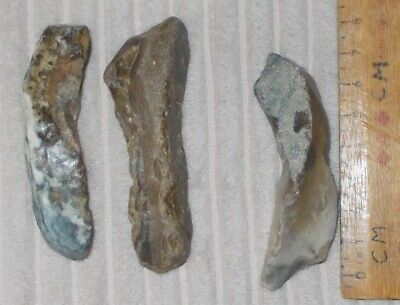 Mesolithic /neolithic Flint Borer / Spearhead Type -Tools (British)