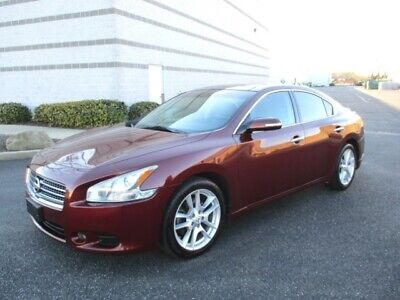 2010 Maxima 3.5 SV 2010 Nissan Maxima 3.5 SV Navigation Leather Spoiler Loaded Sharp Color Must See
