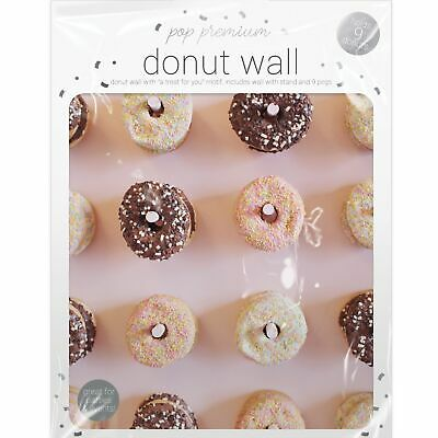 Donut Doughnut Wall Stand Party Wedding Favour Birthday Sweets Candy Cart
