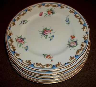 Five LADY LOUISE Old Ivory Syracuse China Bread & Butter Plates