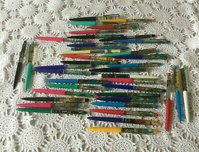 Floaty Pen Advertising Mixed Lot of 40 Vintage Made In Denmark