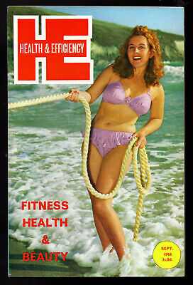 HEALTH and EFFICIENCY:Issue No.785 Sept.1966-Near Fine Condition