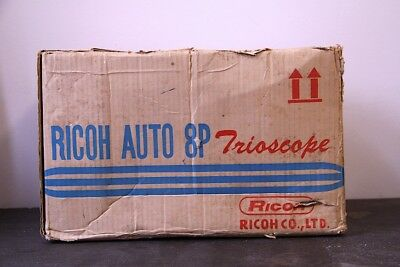 Vintage Ricoh Auto 8P Trioscope Movie Projector in good cosmetic condition