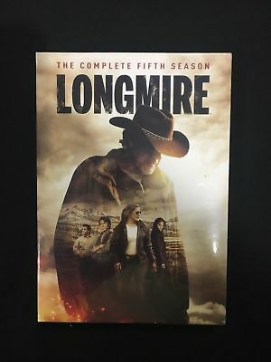 Longmire: The Complete Fifth Season 5 (DVD, 2018, 3-Disc Set)1