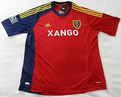 d79ca76378cf nw~Adidas REAL SALT LAKE MLS USA Football Soccer Jersey Shirt 2012 Top~Men