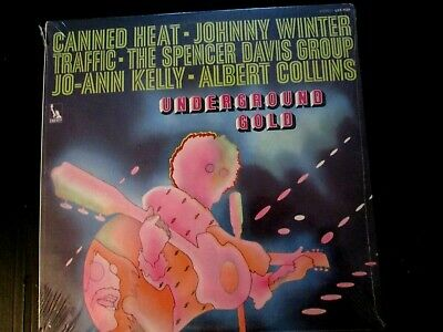 Underground Gold Lp SEALED ORIGINAL Jo-Ann Kelly / Canned Heat  / Johnny Winter