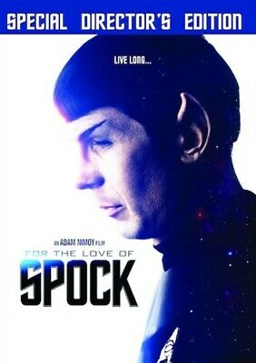 FOR THE LOVE OF SPOCK New Sealed DVD Special Director's Edition Star Trek