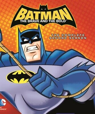 BATMAN THE BRAVE AND THE BOLD COMPLETE SECOND SEASON 2 New Sealed Blu-ray MOD