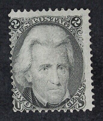 CKStamps: US Stamps Collection Scott#93 2c Jackson Unused NG CV$160