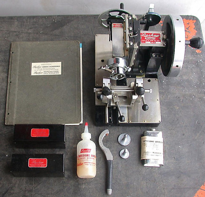 Rare Complete Vintage Lipshaw 50-Ab Microtome Knife Plus Manual Extras Free Ship