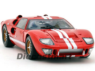 Shelby Collectibles 1:18 1966 Ford Gt GT40 Mkii Druckguss Oldtimer Rot 400