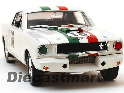 1965 Ford Shelby Mustang GT350R #18 Mexico 1:18 Shelby Collectibles SC357