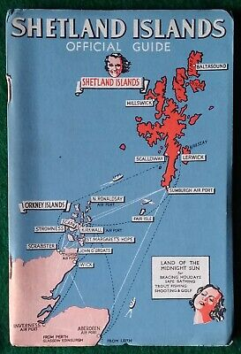 Vintage Guide To The Shetland Isles 1939 Delightful!