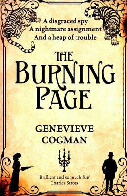 The Burning Page by Genevieve Cogman 9781447256274 (Paperback, 2016)