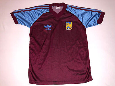 West Ham United Adidas 1980 jersey shirt away home third Hammers vintage N34 e883511e3