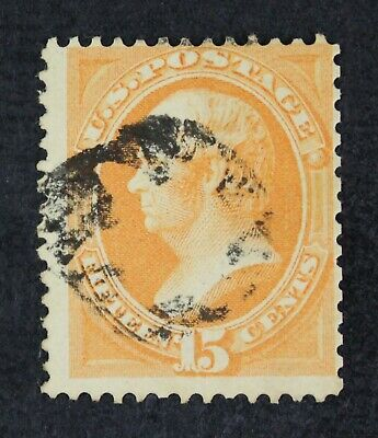 CKStamps: US Stamps Collection Scott#152 15c Used Lightly Crease CV$220