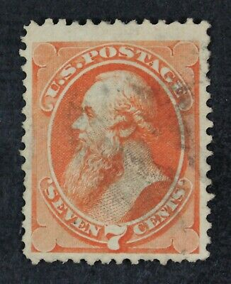 CKStamps: US Stamps Collection Scott#160 7c Used CV$90
