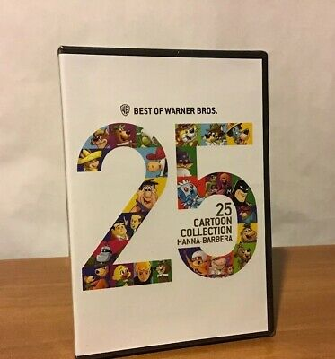 Best of Warner Bros 25 Cartoon Collection Hanna-Barbera DVD New