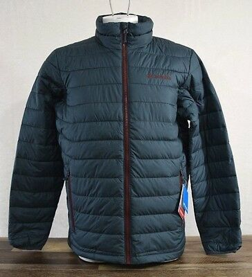 NWT Columbia Oyanta Trail Thermal Coil Insulated Jacket Blue Size LARGE NEW