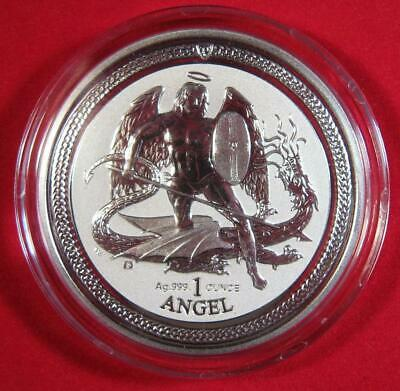 2016 Isle of Man 1 oz Silver Angel Reverse Proof -SEALED AND GORGEOUS